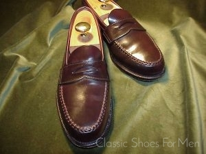 3571339a1a112 german  english. Alden of New England für. Brooks Brothers Shell Cordovan –  Pferdeleder ""