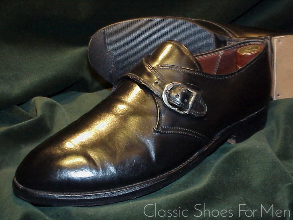 pretty nice b03e1 1c95a *ALDEN Black SHELL CORDOVAN Monk Strap:42.5-43E.