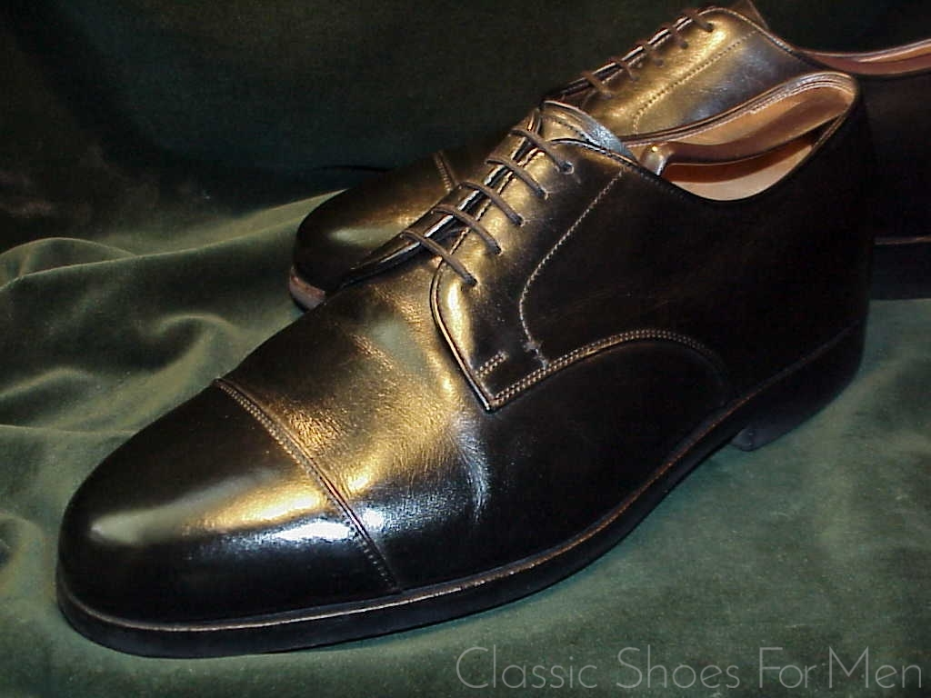 dfa840fd615 *Fein E. VOGEL, New York, BESPOKE Cap-Toe Derby: US 13EE