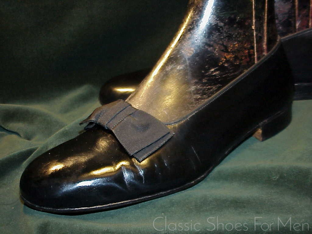 d9cf4b2b9908 english. Henry Maxwell Dover Street London W. 1. Bespoke-Custom-Made Patent  Leather Opera Pump