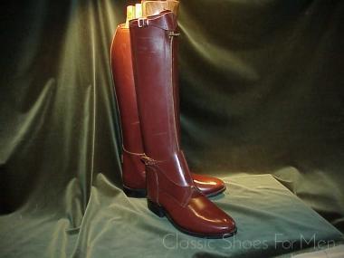 891a1088e1c *NEW – BOND BOOT COMPANY Zippered Polo Boot: 44D