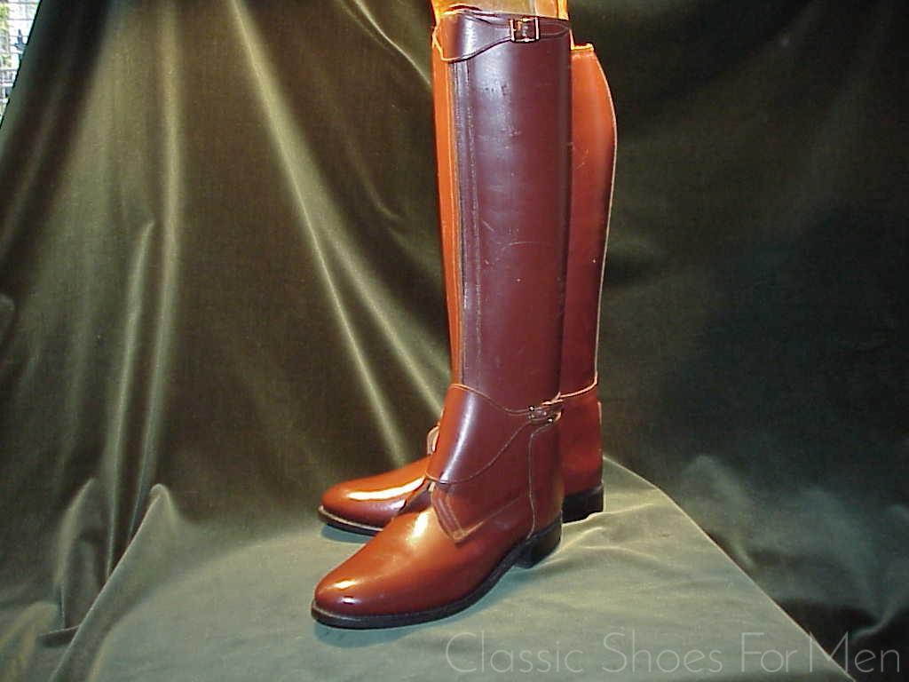 f3693cf58aa *NEW - BOND BOOT COMPANY Zippered Polo Boot: 44D