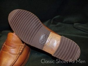 e0adeed76dd19 BROOKS BROTHERS All-Weather Scotch-Grain Penny Loafer  41-41.5C D ...