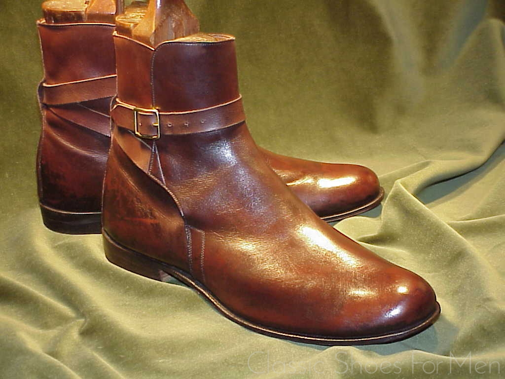 77f8bf8a04c Neuwertig E. VOGEL Bespoke Jodhpur Boot: 41.5D | Classic Shoes For Men