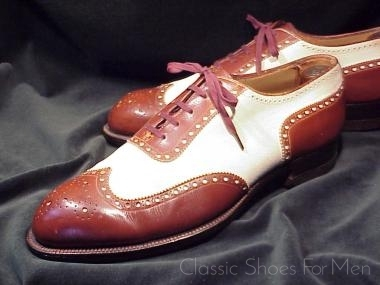 559c6ae6d3bc Vintage 1930s COLE-HAAN Spade Sole Spectator 42E
