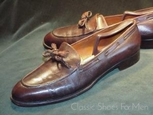 """a0b50019394a Bespoke HENRY MAXWELL (Dover Street) """"Lanyard Bow"""" Loafer"""