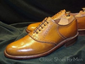 Vintage Haig Saddle Oxford 42D