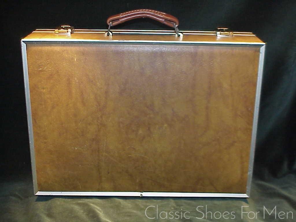 ce4de7a04ad4 Vintage MAXIMILLIAN, New York, Steel Framed Leather Attaché Case, Circa  1960   Classic Shoes For Men